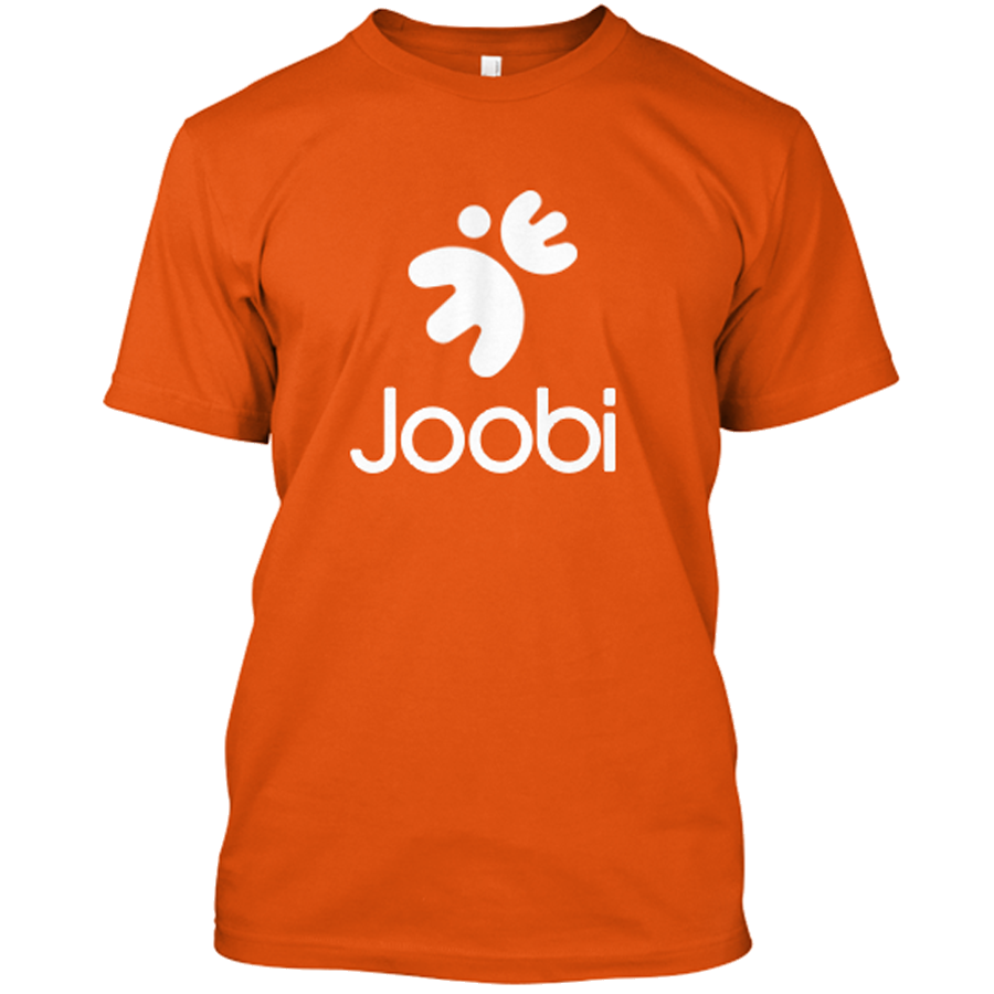 Joobi Shirt Orange