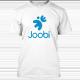 Joobi Shirt Blue-joobi-shirt-white-thumb